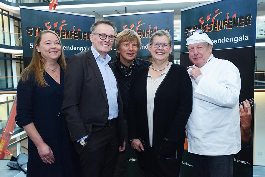 Von links: Tanja Oppermann, Helmut Hasenkox, Norbert Labatzki, Elke Schumacher, Heinrich Wächter